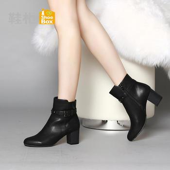 (可使用红包)鞋柜女靴1115505234