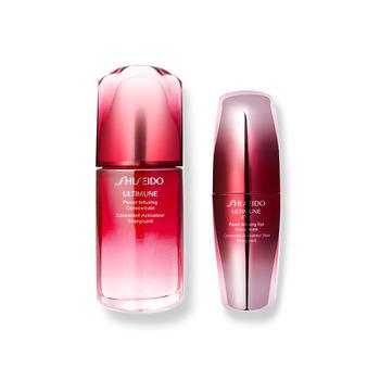 日本•资生堂 (Shiseido)红妍肌活修颜明眸套装(资生堂红妍肌活精华露50ml+资生堂红妍肌活眼部精华露15ml)