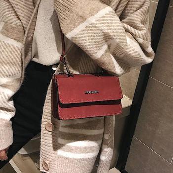 雅涵时尚复古斜挎小包包磨砂女包
