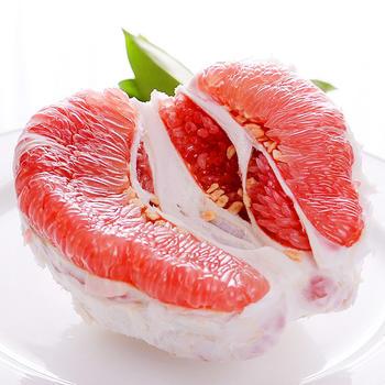 乐知果红心蜜柚4斤 2个装新鲜包邮