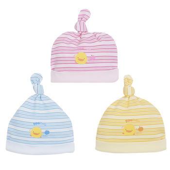 PIYOPIYO婴儿冬日保暖横帽3色可选