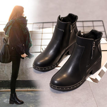 ins马丁靴女英伦风学生韩版女靴子