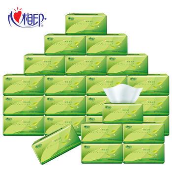 心相印茶语系列整箱24包3层130抽