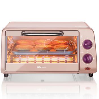 小熊电烤箱家用烘焙多功能全自动烤面包10L
