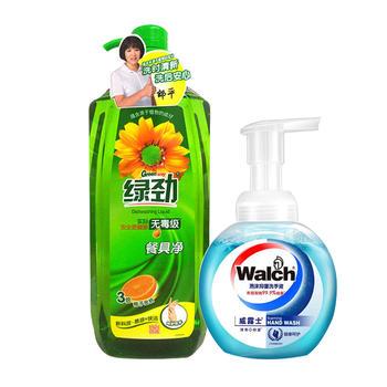 柚子金桔餐具净+泡沫洗手液组合
