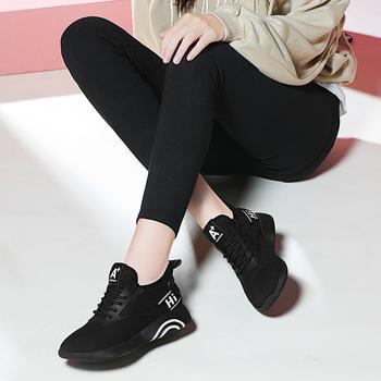 韩版女新款休闲百搭跑步运动鞋