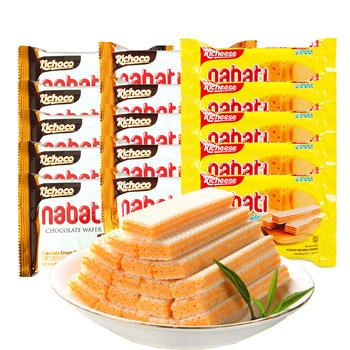 印尼进口Richeese威化饼干58g*15袋