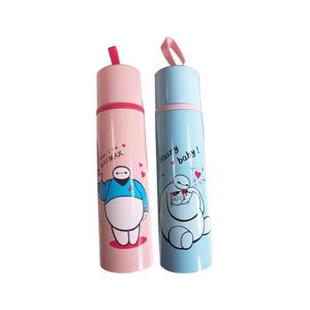 牙小白创意个性卡通大白大容量便携保温杯