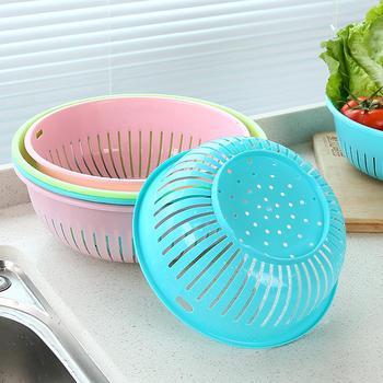 TKC洗菜篮塑料盆果盆果盘5个装