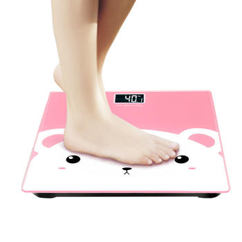 汇奇宜家用卡通人体秤减肥体重秤