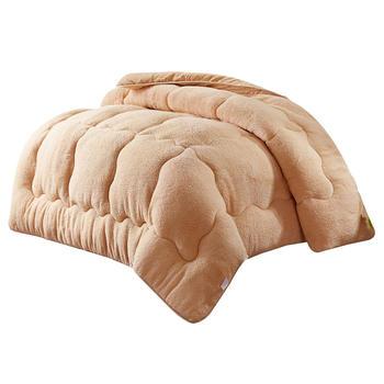 馨丝蓝加厚羊羔绒冬被6斤/7斤
