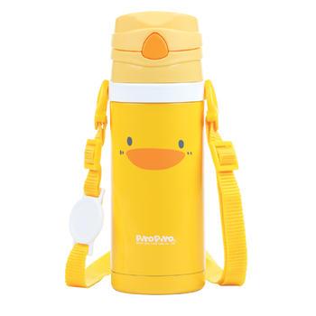 黄色小鸭保温/冷两用吸管随行杯吸管杯