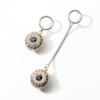 戴拉  925银针复古时尚长款耳环