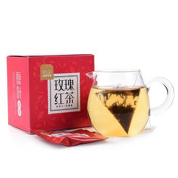 简品玫瑰红茶独立袋泡茶花草茶