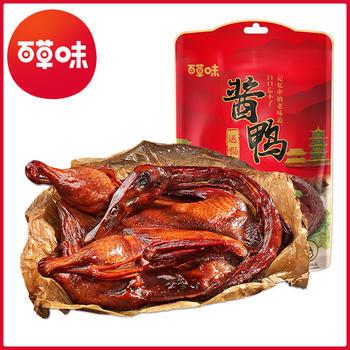 百草味 酱鸭送福500g 卤味年货礼包