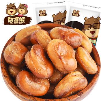 憨豆熊 兰花豆120g*2袋 炒货小零食