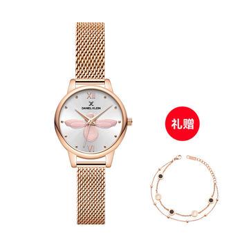 【送贝母手链】DANIEL KLEIN DK小蜜蜂女士手表