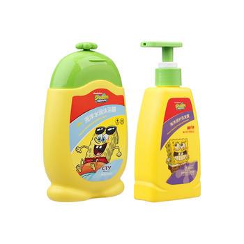 海绵宝宝儿童洗护套洗发水200ml+沐浴露200g