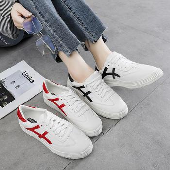 奥古女鞋夏季韩版百搭小白鞋短靴运动休闲潮流百搭