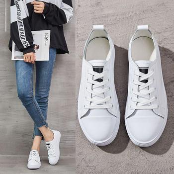 奥古女鞋夏季真皮低帮小白鞋短靴透气浅口百搭潮鞋