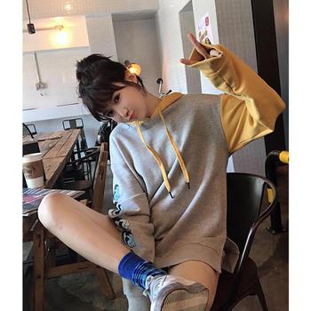 BIGKING 大金家 卫衣女新款韩版外套