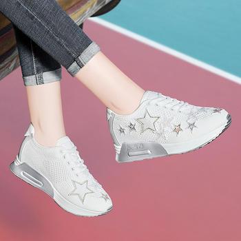 秋季新款韩版运动鞋女士跑步鞋