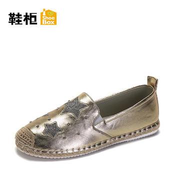 达芙妮旗下鞋柜平底女鞋1117101339