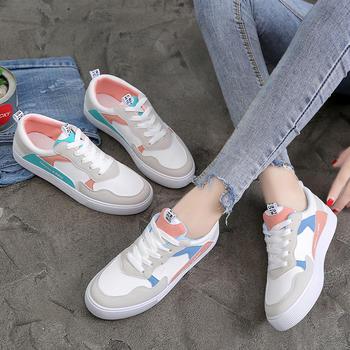 Tatyana舒适平底系带单鞋学生鞋
