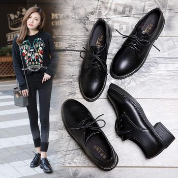 Tatyana舒适英伦系带单鞋女鞋