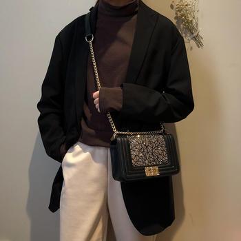 宾尼兔新款时尚链条女包单肩包包