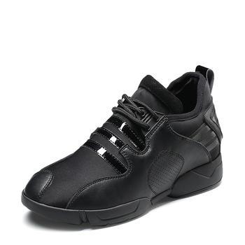 卓诗尼秋季新款?#39184;?#21333;鞋高跟内增高运动风女鞋