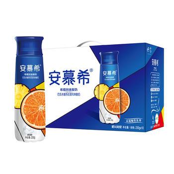 【8月新货】 伊利 安慕希全新高端畅饮橙凤梨口味