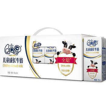 【2月新货】伊利 qq星儿童成长牛奶 190ml*15盒/提