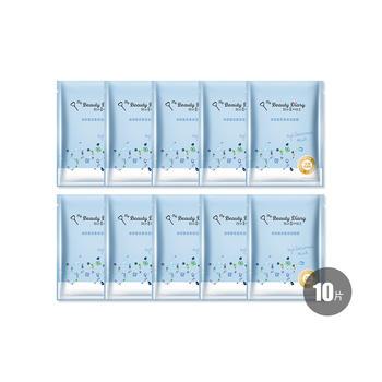 中国•我的美丽日志升级保湿补水玻尿酸10入套组