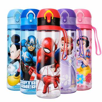 迪士尼儿童水杯家用小学生喝水杯幼儿园防摔直饮杯