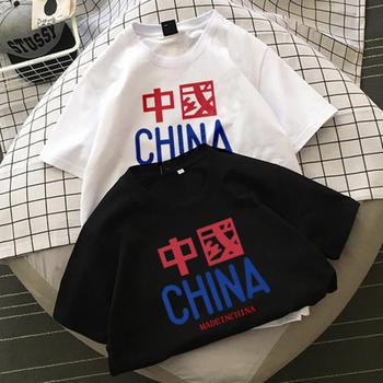 天使格格T恤学生夏季潮流白色棉t恤宽松情侣装半袖T