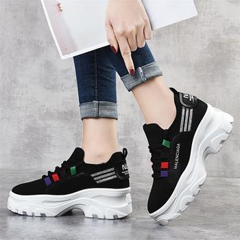 老爹鞋潮冬季韩版百搭学生运动鞋