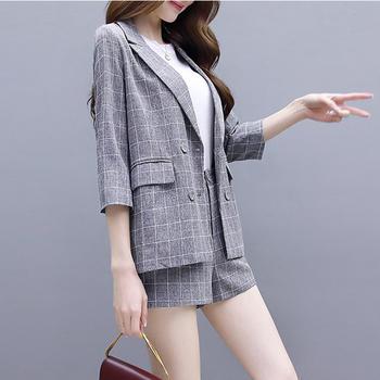 时尚女神小香风网红初春气质两件套