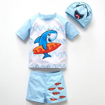 猪猪的故事 婴幼儿泳装男宝宝泳衣1-3-4岁男童泳衣分体