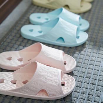 远港浴室拖鞋男女镂空漏水防滑室内速干居家一字拖