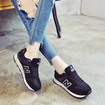 New Barlun纽巴伦春季男女运动鞋跑鞋跑步鞋休闲女鞋