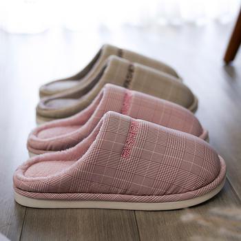远港冬季保暖居家棉拖鞋女室内家用情侣男士厚底防滑