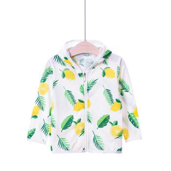谷斐尔宝宝防晒衣女1-3岁薄款夏季透气纯棉外套空调衫