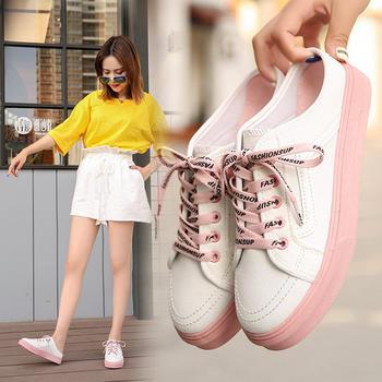 安欣娅新款学院风系带半拖式休闲女鞋
