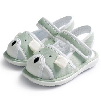 猪猪的故事婴儿鞋子男女宝宝夏季布鞋软底学步鞋