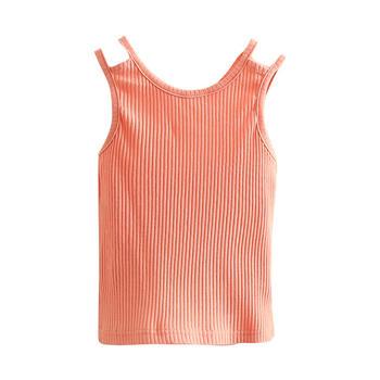 贝壳元素夏女吊带背心无袖上衣txa310