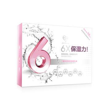 我的心机 六重玻尿酸保湿白面膜礼盒25gx18片(2020.10)