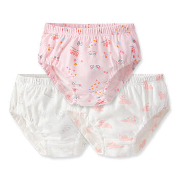HD小龙哈彼儿童男女宝宝面包裤1-3岁棉质裤头三角裤