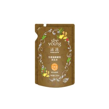 滋源生姜/无患子/茶籽洗头水235ml(随机)
