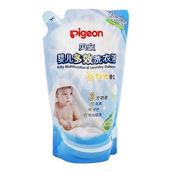 贝亲—婴儿多效洗衣液(阳光香型)1L,补充装MA57